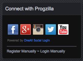 ProgzillaLogin