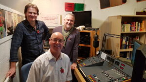 Andy and Pete from Freedom to Glide with Shaun Geraghty from The Prog Mill