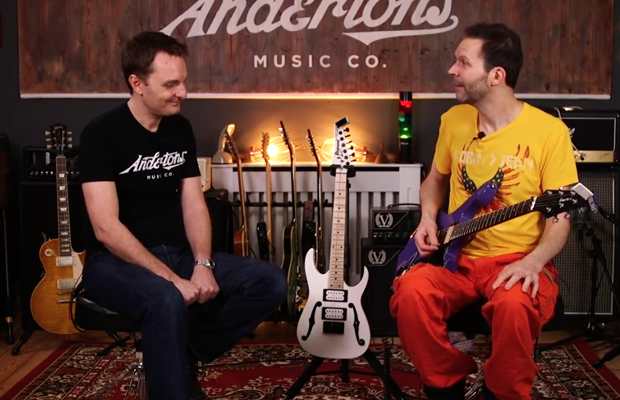 Paul Gilbert with Captain