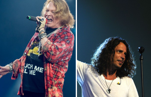 Watch: GUNS N' ROSES Pay Tribute to CHRIS CORNELL