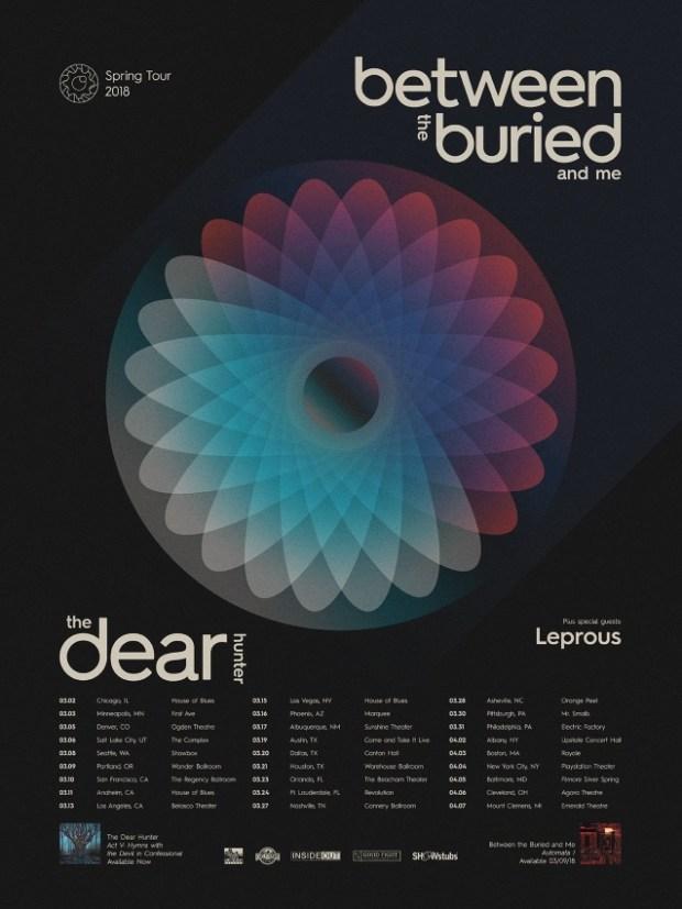 BTBAM 2018 tour dates