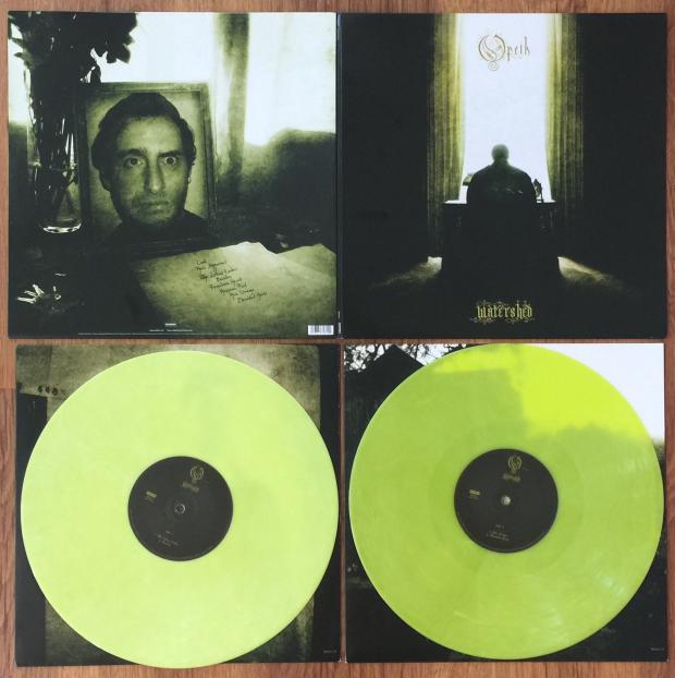 Watershed Green Vinyl.Opeth Watershed