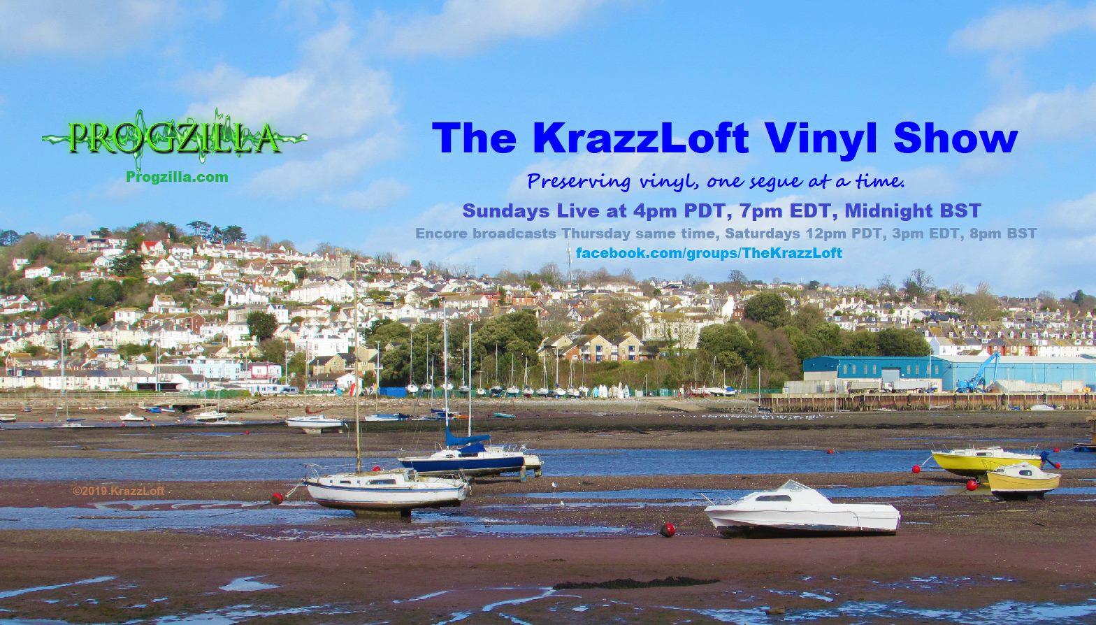 4Pm Bst podcast 66: krazzloft vinyl show 21st july 2019 - progzilla