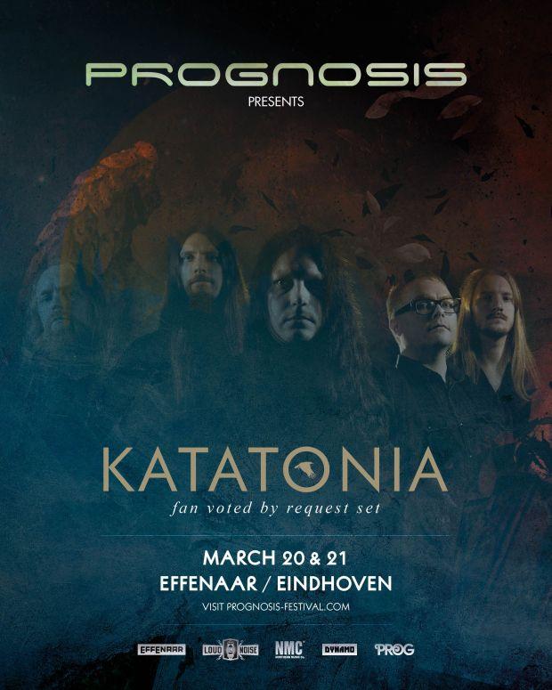 Katatonia - Prognosis 2020 poster