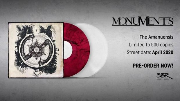 Monuments - The Amanuensis vinyl reissue
