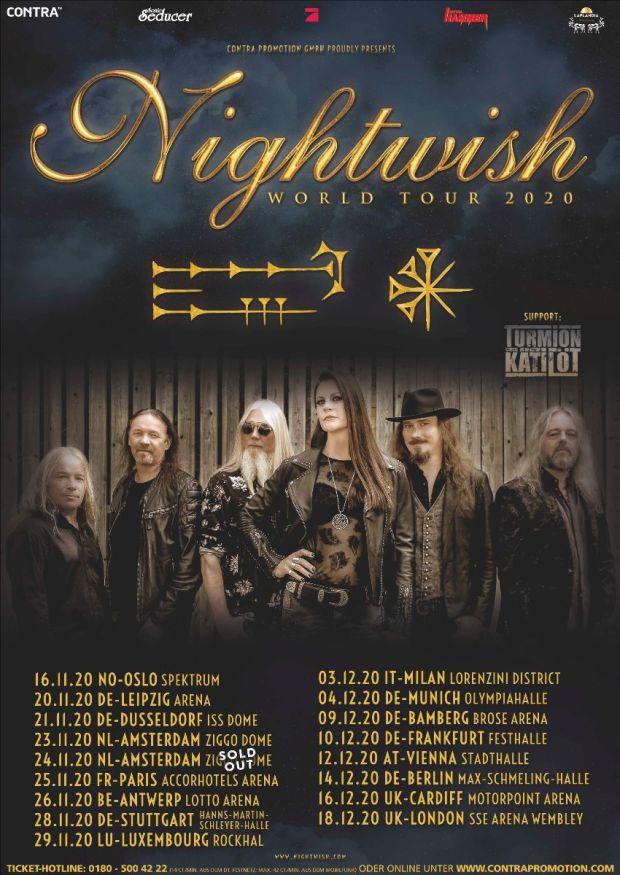 Nightwish Tour 2020