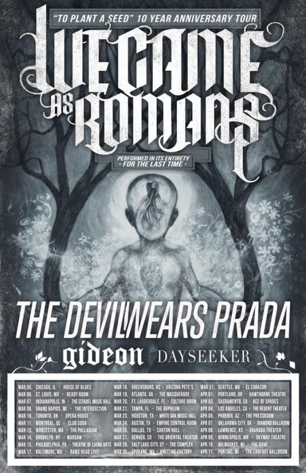 We Came as Romans tour dates