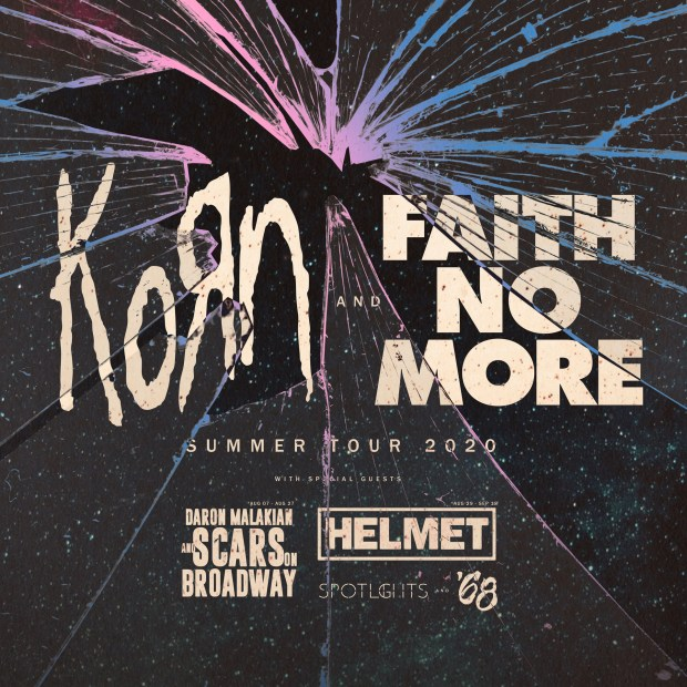 Faith No More - Korn tour